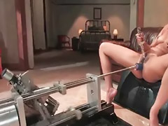 Squirt, Squirting, Machine, Black, Fucking machines, Asian anal