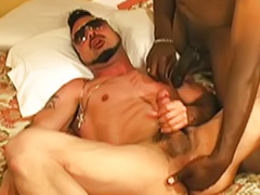 Gay, Interracial, Bareback