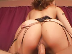 Teen, Stockings, Threesome