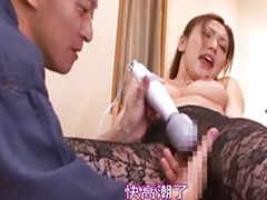 Japanese, Toys, Stockings, Japanese masturbation, Lick