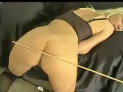 Spank, Spanking, German, Stockings