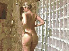 Shower, Beautiful, Blonde, Sex