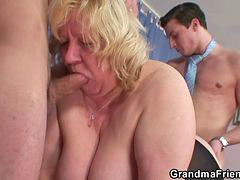 Granny double, Double granny, Doggystyle blowjob, Granny gets, Granny doggystyle, Granny and grannies