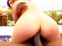 Interracial, Milf, Outdoor