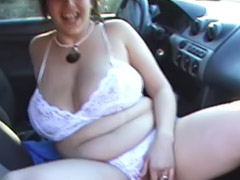 Car, Public, Chubby, Lingerie, Egypt, Fat