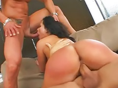 Threesome, Anal, Black, Double, Pornstar, Double penetration