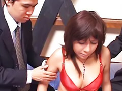 Japanese, Asian, Threesome, Kissing, Kiss, Doll