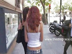 Spanish, Justin, Redhead public, Justine, Beautiful public sex, سكس justin