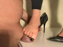 Trampling, Trampled, Trample cock, Cocks indian, Trampling cock, Wife high heels