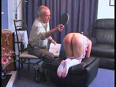 Punishment girl, Punished grandpa, Punished girl, Punish grandpa