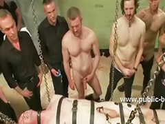 Boy, Gay, Tied, Group sex, Bdsm