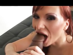 Ass, Interracial, Black, Big cock, Redhead, Anal