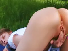 Fingering, Outdoor, Finger, Fingered, Masturbation finger, Outdoor masturbation