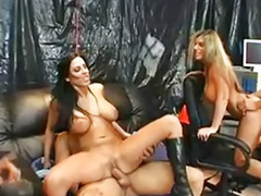 Milf, Big tits, Pornstar, Group sex, Group