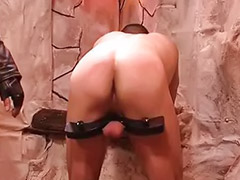Cock, Gay, Slave, Tied up, Tied, Gays