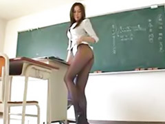 Teacher, Japanese, Japanese pantyhose, Japanese teacher