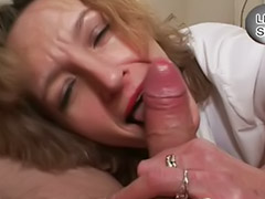 Sucking, Mature blowjob, Mature, German, German mature