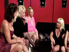 Mature gangbang, Strap on mature, Mature strap, Mature femdom, Femdom big tits, Big tits strap on