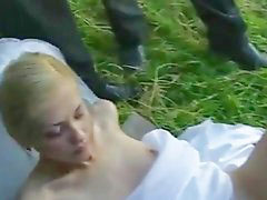 Bride, Wedding, Blonde bride, Wed, Sex bride, Bride fuck