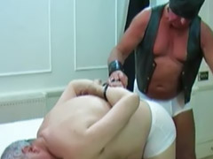Gay, Daddy, Spanking, Panties, Latex, Deepthroat