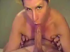 Deepthroat, Nose, Her cum, C through, Couple deepthroat, Nose sex