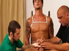Virgin, Tied, Tease, Gay handjob, Group amateur, Tease cock