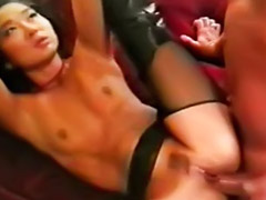 Vintage, Asian, Kitty, Asian anal