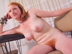 Hairy redhead, Red tits, Red tit, Red hairy, Real redhead, Real tits