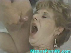 Mature fuck guy, Younger guy, Mature in kitchen, Mature fucked kitchen, Horny mature fuck, Mature younger