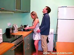Teen in kitchen, Kitchen teen, Teen lovers, Teen lover, Teen kitchen, Fuck in kitchen