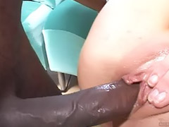 Pov interracial blowjob