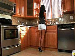 Ava addams, Cleaning, Toes, Clean, Ava, Ava addam
