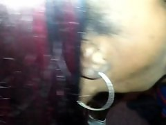 Ebony deepthroat amateur, Blowjob car ebony, Black car, Car black, Ebony car