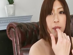 Tease, Brush, Used, Asian stocking, Teasing, Asian teasing