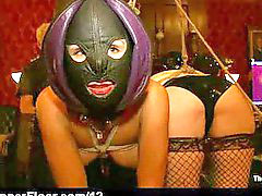Spanking babes, Mask sex, Mask bondage, Group bound, Bondage babe sex, Bound spanking
