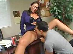 At work, Naughty office, Licking at work, Office work, At works