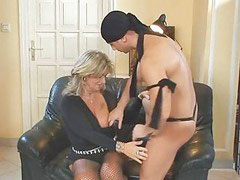Milf in stockings, Milf in stocking, Fishnet stocking