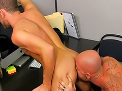 Muscle, Muscles, Office gay sex, Gay muscle, Parker, Muscled