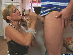 Jodi west, Jodie west, Jody west, French handjob, French maid, Maid french