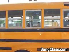 Bus, School bus girls, Driver, School bus, Teen bus, School girls fucks