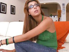 Glasses, Hot, Girl