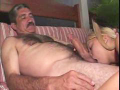 Anal, Young, Old man, Girl, Old