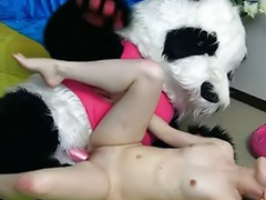 Dance, Dancing, Crazy, Panda, Teens dance, Teen dance
