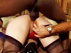 Mature anal, Interracial, Mature