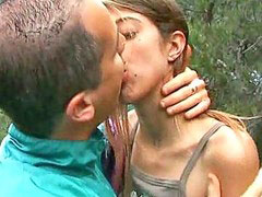 Skinny girl gets, French outdoor, Skinny french, Skinny boyfriend, Skinny outdoors, Skinny outdoor