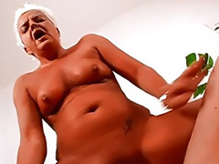 Granny, German milf, German granny, Granny amateur, Granny blowjob amateur, German hard