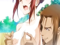 Hentai, Fondle, Fondled, Redhead hentai, K-on hentai, Hot girl get