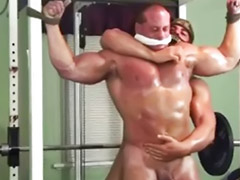 Muscle, Muscles, Bound, Gay muscle, Gay bondage, Gay spank
