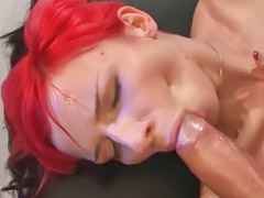 Bukkake swallow, Couples swap, Bukkake stocking, Redhead facial, Swap couples, Bukkake swallowing