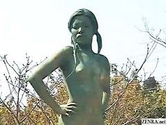Nude female, Statue, Living nude, Live japanese, Japanese-nude, Japanese nudes